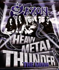 Blu-ray Disc SAXON Heavy Metal Thunder - The Movie sur ROOOAR (FR)