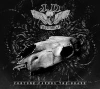 CD J.D. OVERDRIVE Fortune Favors The Brave sur ROOOAR (FR)