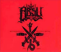 CD ABSU Mythological Occult Metal: 1991-2001 sur ROOOAR (FR)